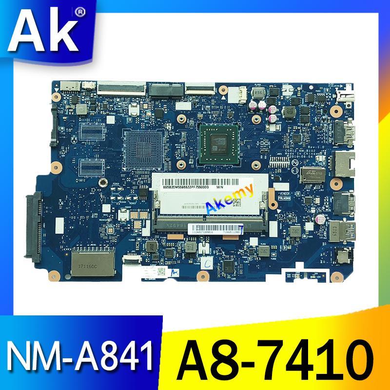 NM A841 материнская плата для ноутбука lenovo 110 15ACL с процессором AMD A8 R5 M430 2G GPU