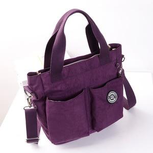 Image 3 - Nuovo arriva moda casual in nylon impermeabile sacchetto del messaggero della spalla #6371