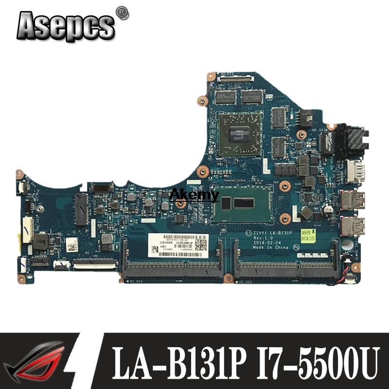 LA B131P материнская плата для ноутбука Lenovo Y40 80 оригинальная I7 5500U R9 M275X|Материнские