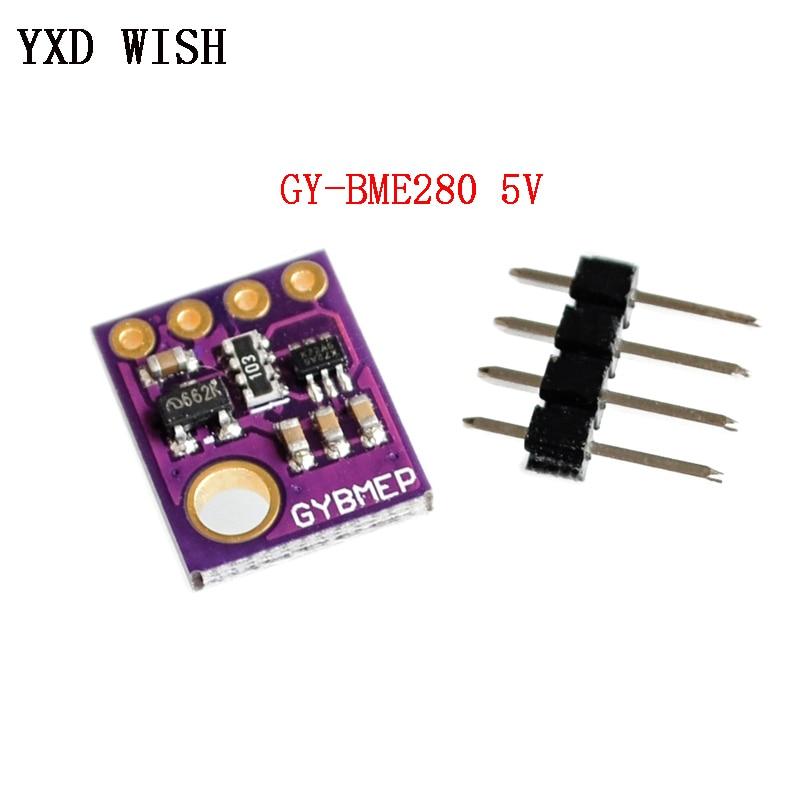 BME280 5V Pressure Sensor GY-BME280 5 V Digital Sensor SPI I2C Humidity Temperature And Barometric Pressure Sensors Module