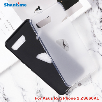 Carcasa trasera protectora para Asus Rog Phone 2 Gel Pudding silicona para Asus Rog Phone 2 ZS660KL Soft TPU