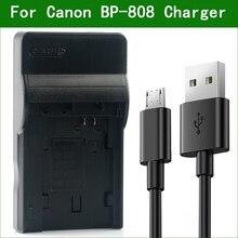 LANFULANG BP 808 Battery Charger Kit for Canon HF M43 M306 M36 FS200 FS30 FS31 FS300 FS22 FS21 FS20 FS11 FS100 FS10 FS40