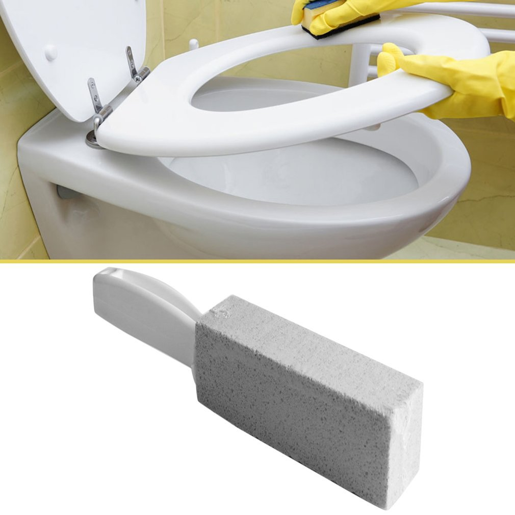 2019 HOT SALES 1Pc Toilets Cleaner Stone Natural Pumice Stone Toilets Brush Quick Cleaning Stone Cleaner With Long Handle