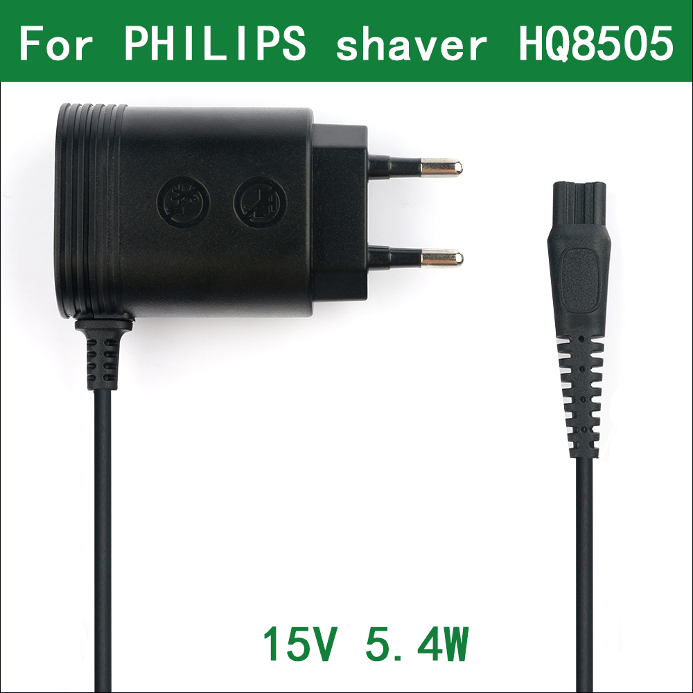 15V 5.4W EU Wall Plug AC Power Adapter Charger for <font><b>Philips</b></font> Electric Shaver S7720 S9311 S9511 <font><b>S9111</b></font> S9121 S9151 S9911 S7700 image