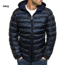 Mens Hooded Cotton Jacket, Light and Loose Jacket Winter Jackets Coats Men Coat