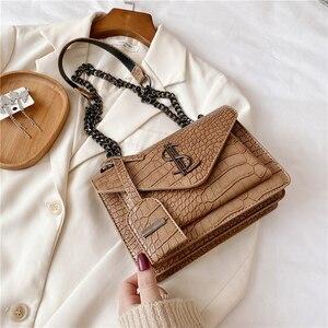 Image 5 - Luxury Handbags Famous Brand Women Bags Designer Lady Classic Plaid Shoulder Crossbody Bags Leather Women Messenger handbags