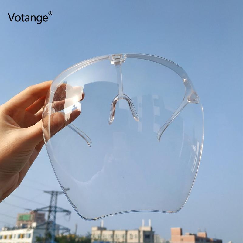 Sunglasses Women Men Protective Faceshield Glasses Goggles Full Face Covered Spherical Lens Anti Spray Safety Sunglasses E108