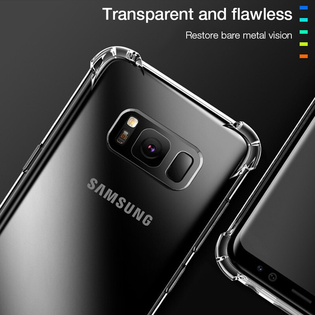 Shockproof Case for Samsung Galaxy S10 Plus lite S10e S20 FE S8 S9 plus S21 Silicone Phone Cases for Note 20 10 9 8 Back Cover 2