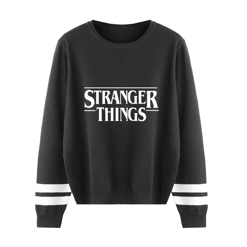 Autumn Winter Sweater Men/Women Hip Hop Long Sleeve Knitted Sweater Man Fashion Stranger Things Sweaters Casual Tops Pullovers