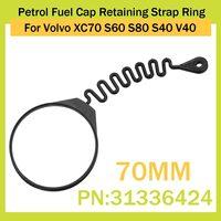 Araba benzin yakıt kapağı tutucu kayış yüzüğü Volvo XC70 S60 S80 S40 V40 31336424 aksesuarları