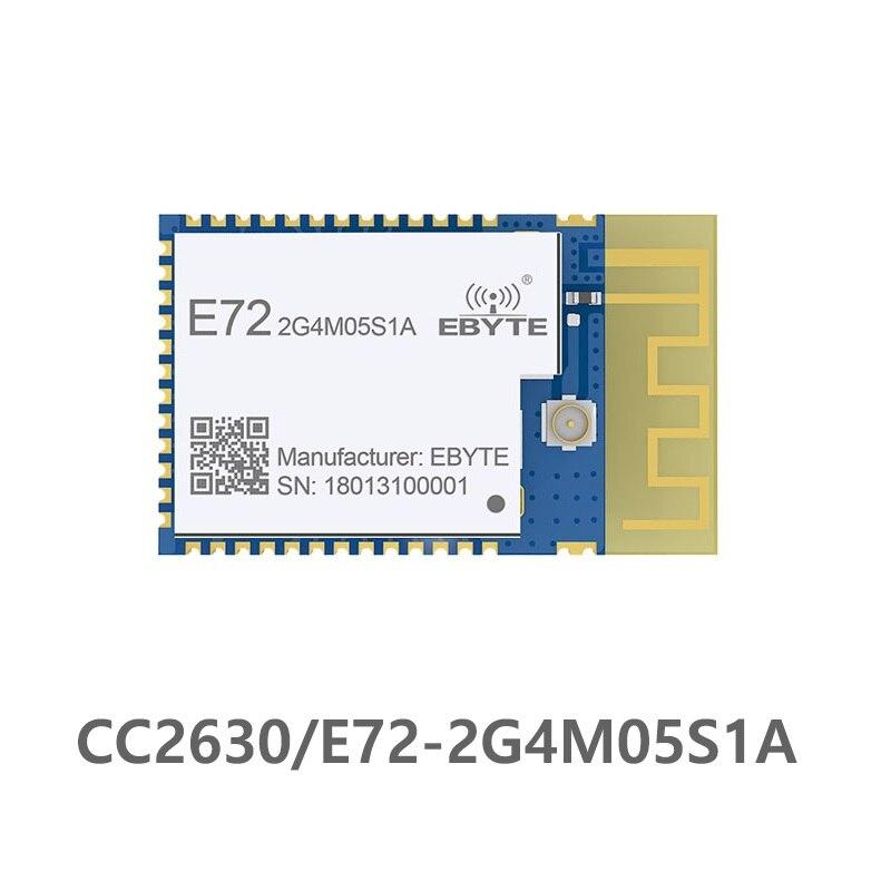 E72-2G4M05S1A Zigbee Dual Core brazo CC2630 2,4 Ghz 3,2 mW IPX Antena de PCB uhf transceptor inalámbrico transmisor receptor de RF Moudule Antena Wifi Superbat Yagi 2,4 GHz 16dBi Booster Wireless-G para 802.11b/g/n WLAN RP-SMA Cable de enchufe macho 5m extensión de largo alcance