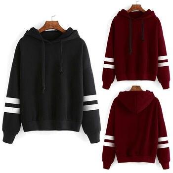 Womens Winter Hoodies Sweatshirt Ladies Hooded Coat Jumper Pullover