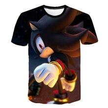 Children Sonic The Hedgehog With Mario Cartoon Funny T shirt Boys Girls Super Mario Bros Summer Tops Kids Baby Clothes 3T-14T худи print bar mario sonic