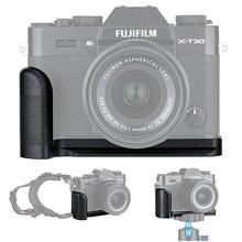 מתכת יד אחיזה שחרור מהיר צלחת L סוגר מחזיק עבור Fujifilm X T30 X T20 X T10 XT30 XT20 XT10 מחליף MHG XT10 יד גריפ