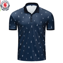 Fredd Marshall 2019 New Cactus Printed Polo Shirt Men Short Sleeve Casual Full Printing Polo Shirt Male Tops Tees 049