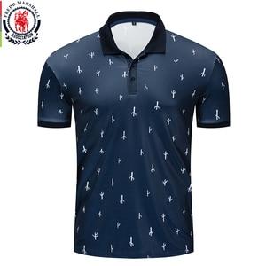 Image 1 - Fredd Marshall 2019 Nieuwe Cactus Gedrukt Polo Shirt Mannen Korte Mouw Casual Volledige Printing Polo Mannelijke Tops Tees 049
