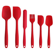 Silicone Spatula Spoon Pastry-Brush Scraper Baking-Tools Non-Stick Cooking-Baking Heat-Resistant