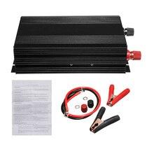 Автомобильный 3000 Вт 60 Гц чистая Синусоидальная волна инвертор DC 12 В до 110 В преобразователь Авто трансформатор напряжения