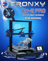 TRONXY 3D Printer XY 2 Pro Upgraded Rapid Heating Auto Leveling Resume Power Failure Printing Filament Run out Detector Titan