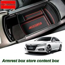 Car Interior Console Armrest Storage Box Organizer Holder For Honda Accord 10th