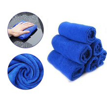 Small Towel Microfiber Washing-Glass Car-Cleaning Household 10pcs Automobile Motorcycle