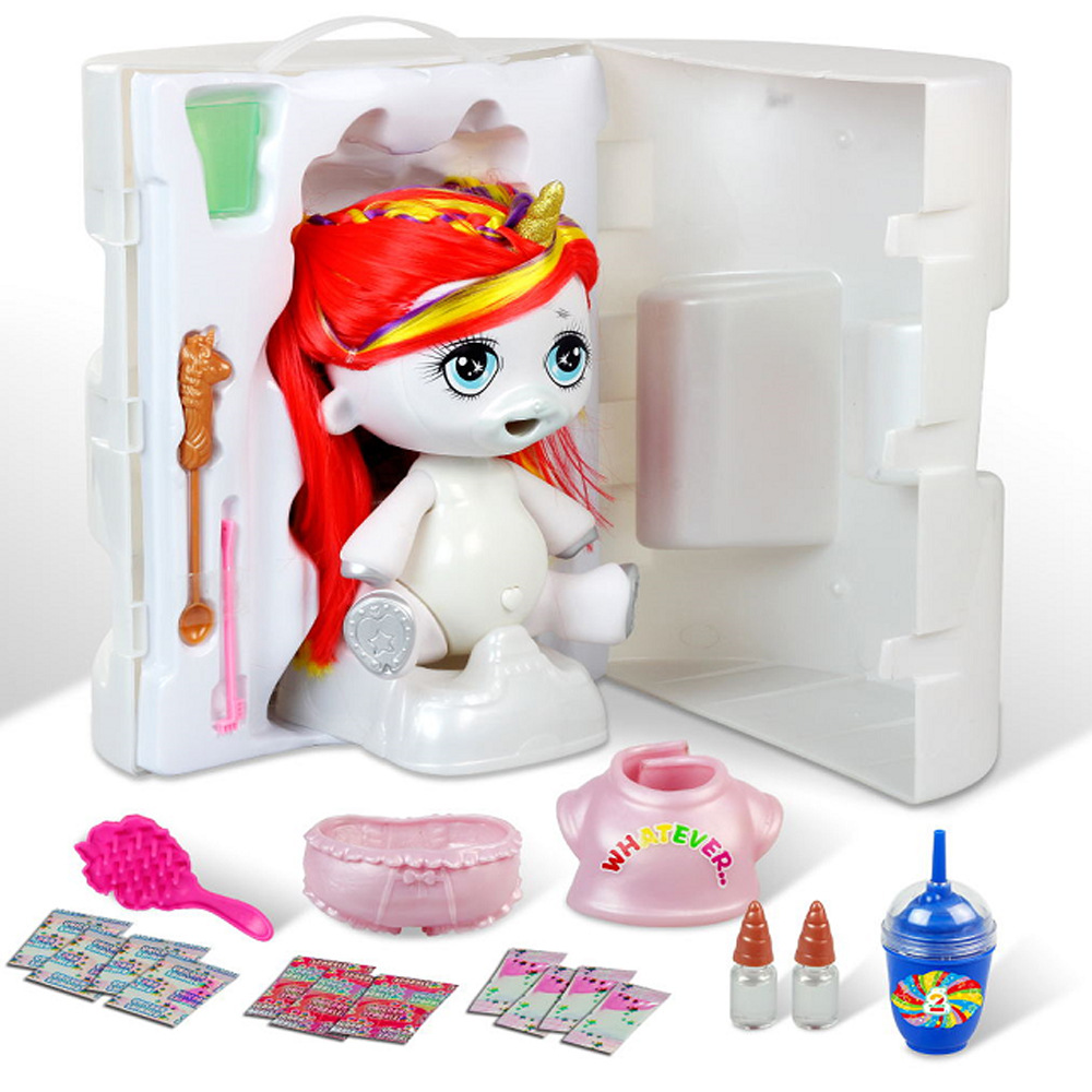 Новинка 31 см Poopsie Slime Единорог Плюется слизи кукла игрушки одежда мягкие игрушки животных хобби игрушки для снятия стресса