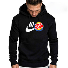 New 2019 Fashion mens Hoodies Funny style Streetwear Casual hoodies spring men top Cotton hip hop swearshirt