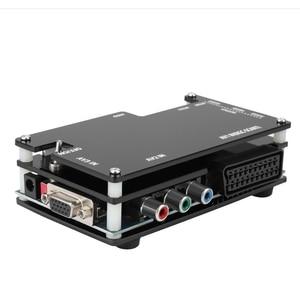 Image 4 - Zestaw konwertera OSSC HDMI do konsol gra Retro PS1 2 Xbox Sega Atari Nintendo, wtyczka amerykańska dodaj Adapter ue