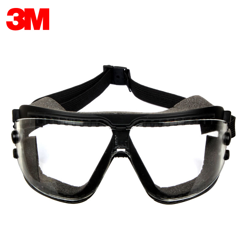 3M 16618 Safety Goggles Dust-proof Wind-sand Riding Anti-impact Protective Glasses Anti-spatter Spray Painting Polishing