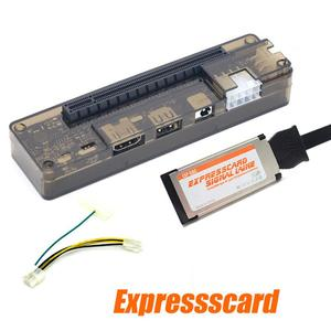 Mini 8Pin/6Pin PCI Expresscard Interface EXP GDC PCI-E Portable External Video Card Dock Graphics Card Laptop Docking Station