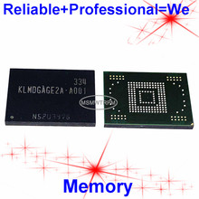 KLMDGAGE2A A001 BGA169Ball EMMC 128GB Mobilephone Memory New original and Second hand Soldered Balls Tested OK