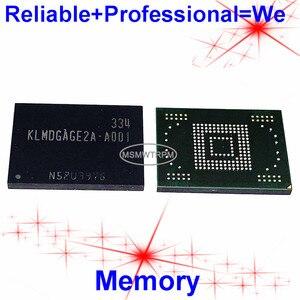 Image 1 - KLMDGAGE2A A001 BGA169Ball EMMC 128GB cep telefonu bellek yeni orijinal ve İkinci el lehimli topları test tamam
