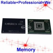 KLMDGAGE2A A001 móvil BGA169Ball EMMC, 128GB de memoria, bolas soldadas originales y de segunda mano, probado, OK