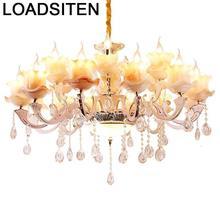 Industrial Pendant Light Touw Gantung Crystal Lampara De Techo Colgante Moderna Luminaria Luminaire Suspendu Hanging Lamp