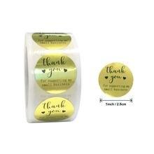 500 шт/упак roll золотые самодельные с любовным сердцем бронзирующие