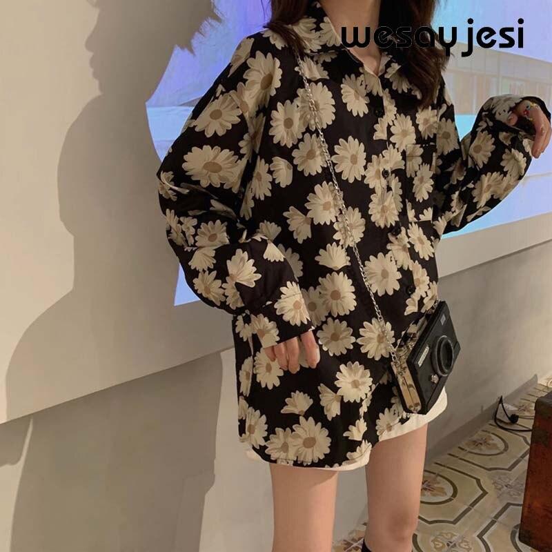 Женские топы и блузки Модные женские 2020 весенние блузки английский Винтажный стиль длинный рукав размера плюс blusas mujer de moda