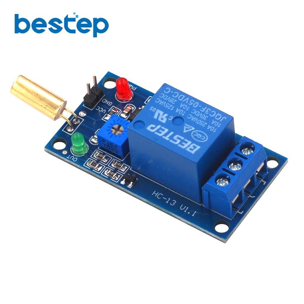 10PCS SW-100 Electronic Vibration Sensor Switch Tilt Sensor for Arduino  ei