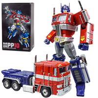 Transformation OP Commander WJ MPP10 G1 Alloy Action Figure Robot Car Trailer Truck Container Oversize Deformed Toys Kids Gifts