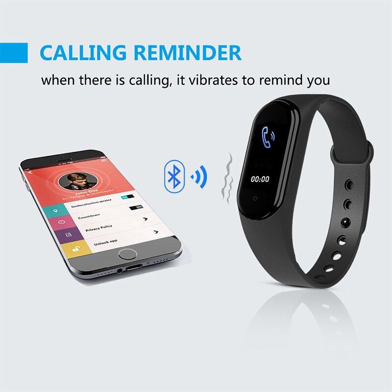 Смарт-браслет M5 для мужчин и женщин, фитнес-трекер для воспроизведения музыки, совместим с устройствами на базе IOS 2