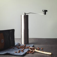 Hand Coffee Machine Portable Manual Coffee Grinder Stainless Steel Hand Crank Coffee Machine Camping Backpacking portable manual coffee maker with coffee bean grinder all in one machine stainless steel coffee machine cafetiere cafetera