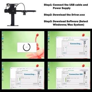 Image 4 - 2020 nouveau NEJE Master 2 20W bureau CNC Laser graveur Portable bricolage gravure sculpture Machine Laser découpe gravure Machine