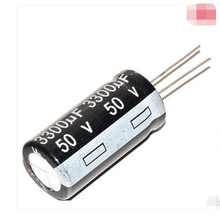 5pcs/lot High quality electrolytic capacitor 50V 3300UF volume 18*35