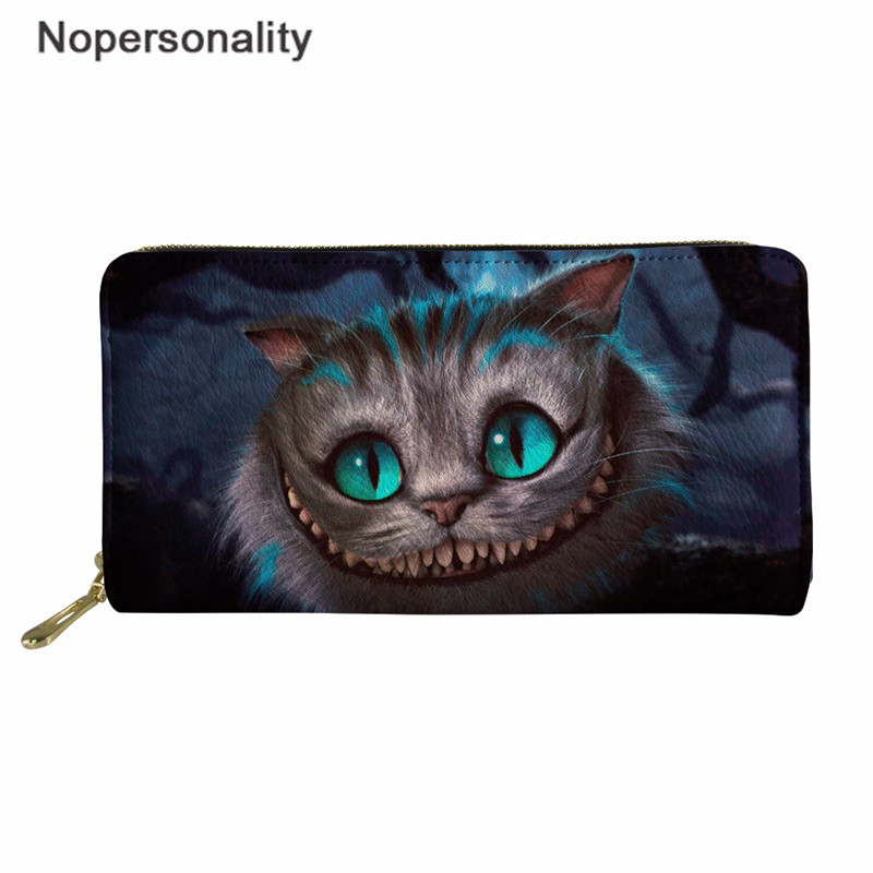 Women Funny Green Dinosaur Gifts Leather Wallet Large Capacity Zipper Travel Wristlet Bags Clutch Cellphone Bag