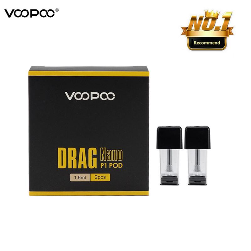4pcs/8pcs/40pcs Voopoo S1 Drag Nano P1 Pod Vape 1.6ml Wi/ 1.5ohm & S1 1.0ml Wi/ 1.8ohm Cartridge Pod Atomizer Coil Head