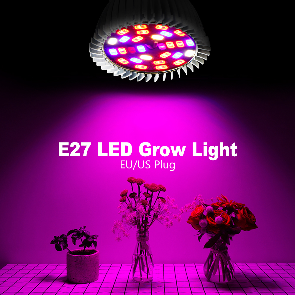 LED Lampe Pour Plante LED Clip Spotlight Lamp Bulb For Garden Light Bulbs For Plant Growth Greenhouse Hydroponics Grow Box