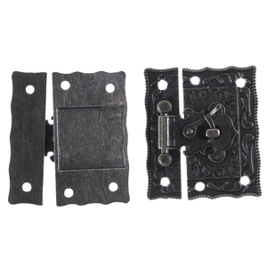 1PCS Box Suitcase Toggle Latch Buckles,Wooden Box Lock,Bronze Tone,Home DIY,Wood Working,Antique Lock 51mm*43mm
