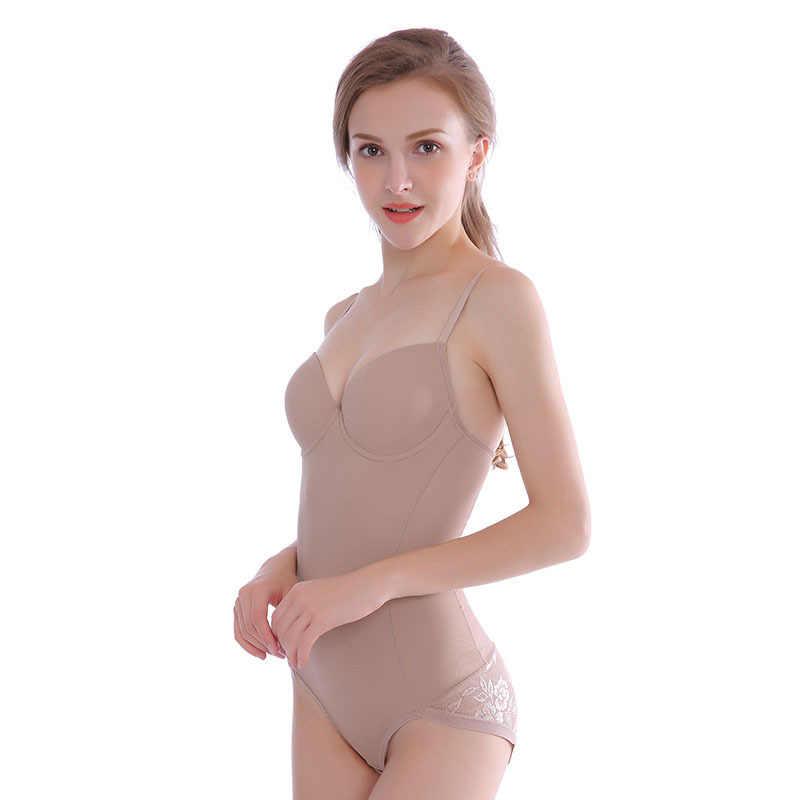 Сексуальное Корректирующее белье бесшовный пояс наряд тренера для женщин