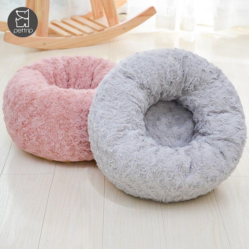 Длинная плюшевая кровать для собаки супермягкая домашнего питомца
