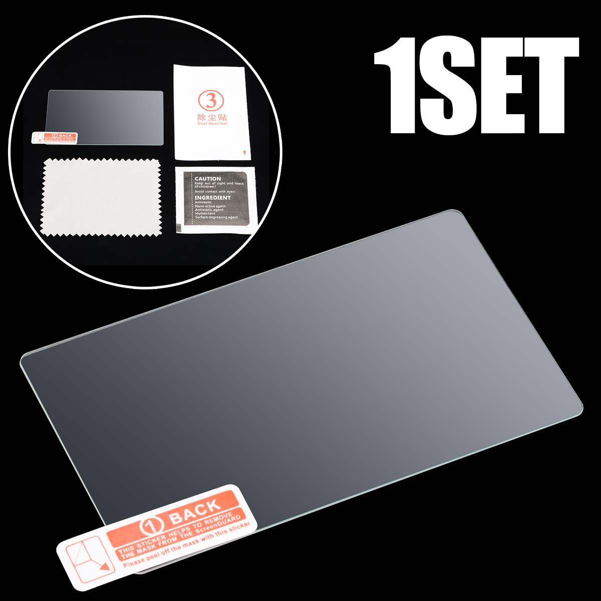 1pc Tempered Glass LCD Screen Protector Film Suitable For <font><b>Sony</b></font> <font><b>Alpha</b></font> A6000 A5100 <font><b>A5000</b></font> nex-7 nex-6 nex-6L NEX-5N NEX-3N NEX-5C image