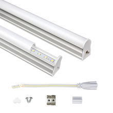 LED Tube T5 Light 30CM 60CM 220V~240V Fluorescent Lamps 6W 10W Cold White Lampara Ampoule PVC Plastic